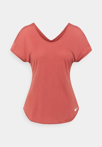 BREATHE COOL - T-shirts med print - canyon rust