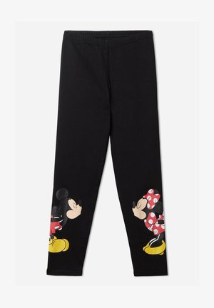 DISNEY'S MINNIE MOUSE - Leggings - Trousers - schwarz - disney black
