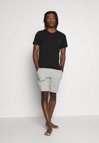 Calvin Klein Underwear - CK ONE CREW NECK 2 PACK - Maglietta intima - black - 0