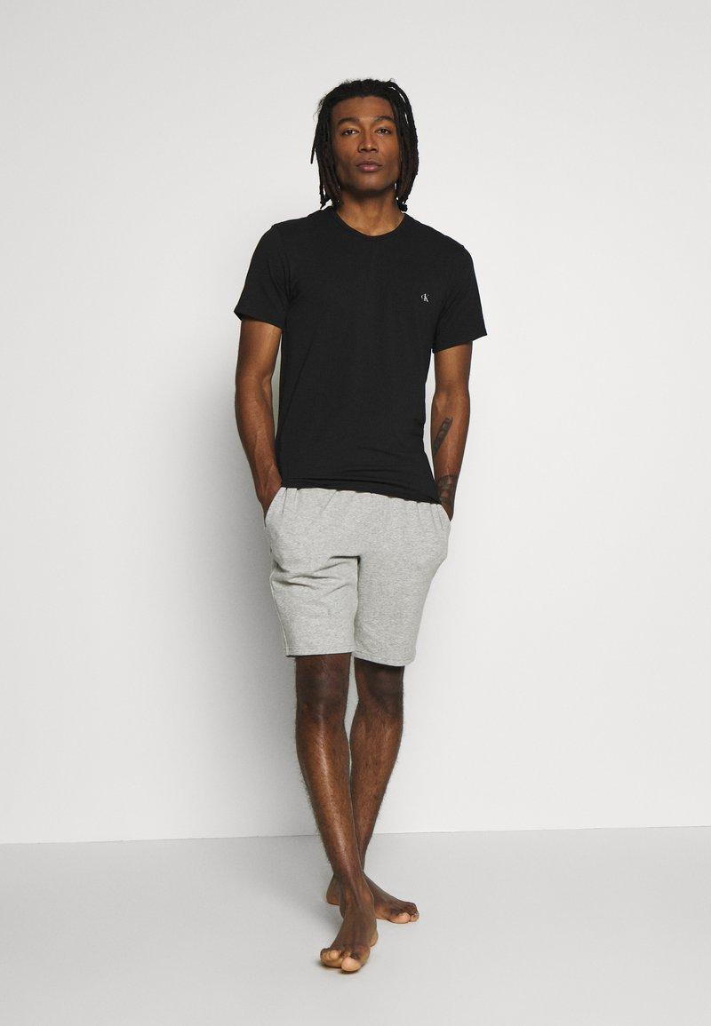 Calvin Klein Underwear - CK ONE CREW NECK 2 PACK - Maglietta intima - black