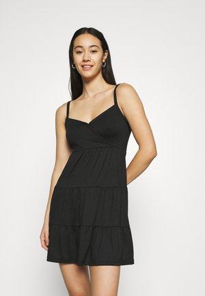 BARE DRESS - Jersey dress - black