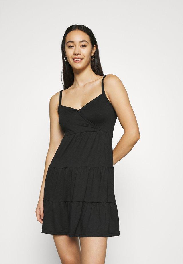 BARE DRESS - Jerseykleid - black