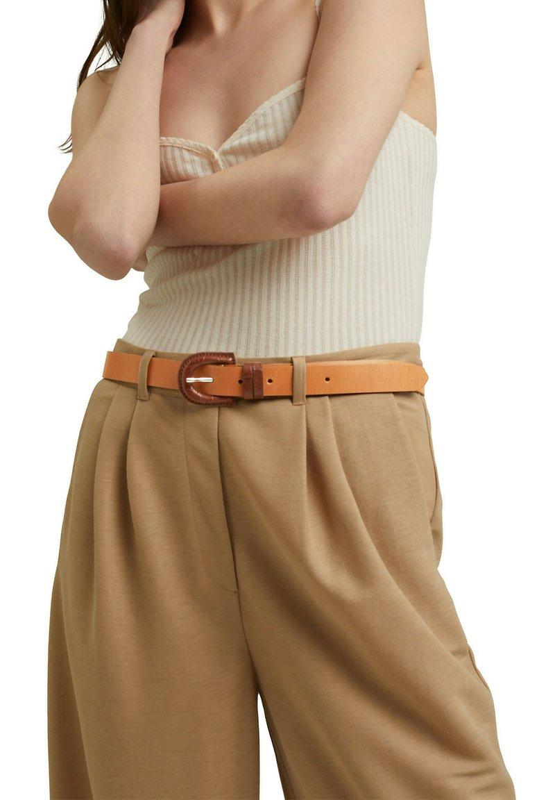 Esprit - Belt - caramel