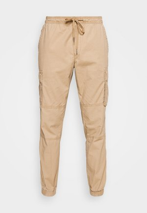 JOGGER - Cargo trousers - mojave