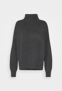 NMIAN ROLL NECK  - Pullover - dark grey melange