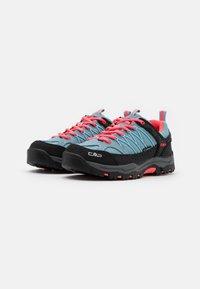 CMP - KIDS RIGEL TREKKING SHOE WP UNISEX - Hiking shoes - clorophilla/red fluo - 1
