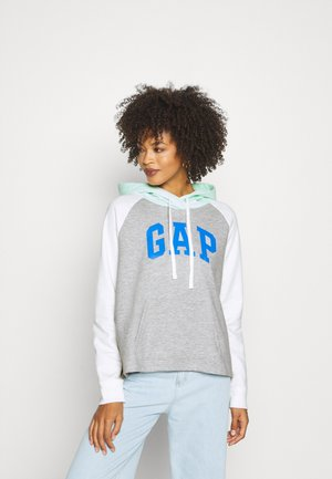 FRANCHISE LOGO  - Sweat à capuche - light heather grey