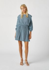 PULL&BEAR - Day dress - blue - 1