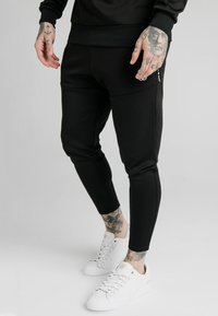 SIKSILK - FUNCTION TRACK PANTS - Jogginghose - black - 0