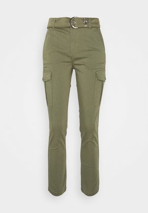PANT - Cargo trousers - platano