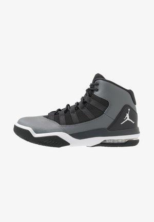 MAX AURA - Sneakersy wysokie - smoke grey/white/dark smoke grey
