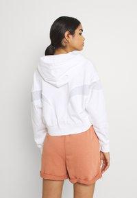 Nike Sportswear - AIR HOODIE - Zip-up sweatshirt - white/pure platinum/black - 2
