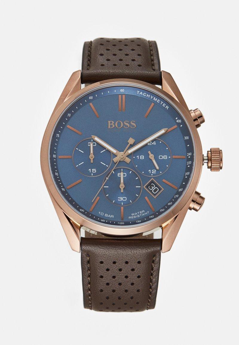 BOSS - CHAMPION - Chronograph watch - brown