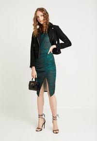 Ivyrevel - FRONT WRAP DRESS - Shift dress - green - 2