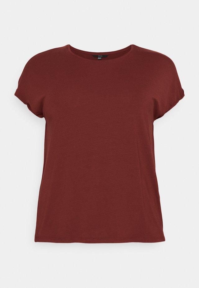 VMAVA PLAIN - T-shirt basic - madder brown