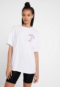 Even&Odd - Print T-shirt - white - 2