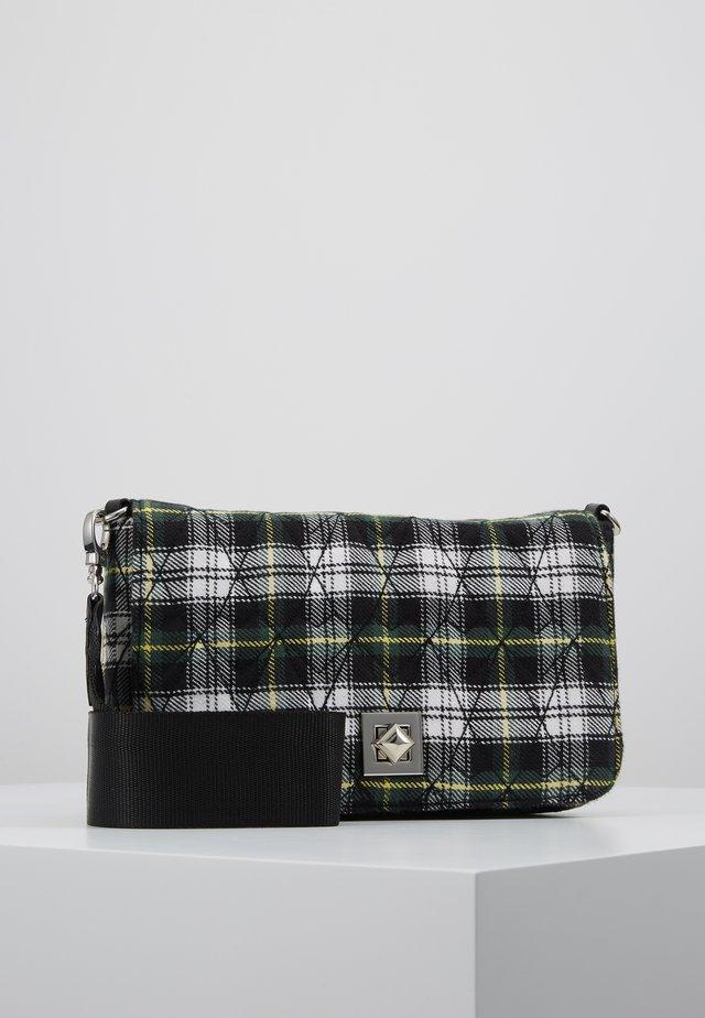 RY MIKKY BAG - Taška spříčným popruhem - black