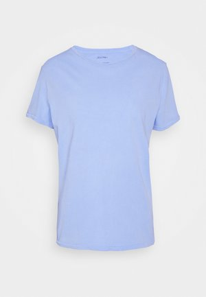 VEGIFLOWER - Jednoduché triko - celeste