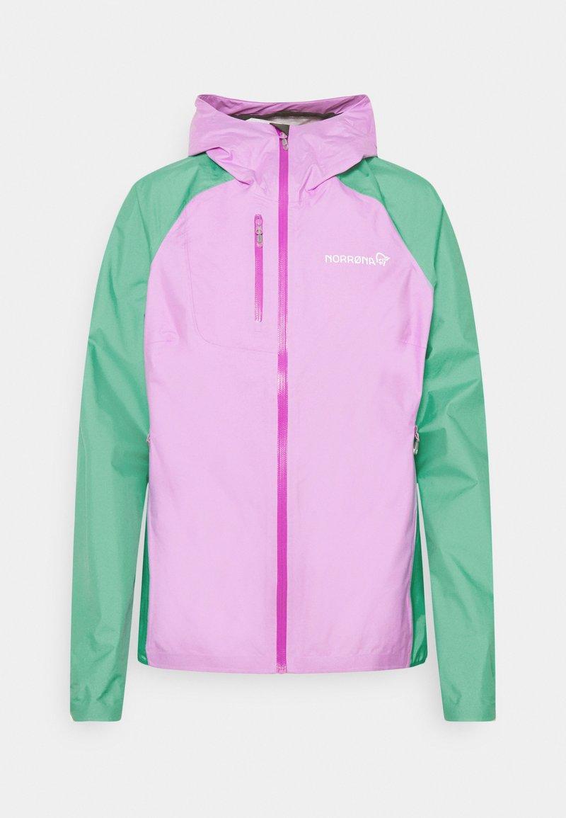 Norrøna - BITIHORN DRI1 JACKET - Hardshell jacket - violet tulle