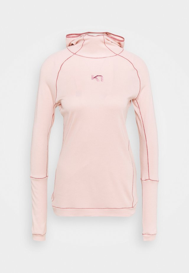 RULLE HOOD - Sports shirt - pearl