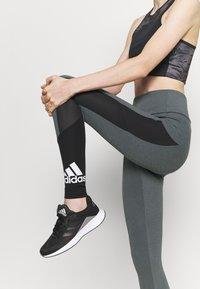 adidas Performance - Collants - grey/black/white - 4