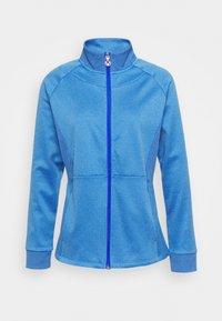 Callaway - MIDWEIGHT WAFFLE - Zip-up sweatshirt - blue tattoo heather - 4
