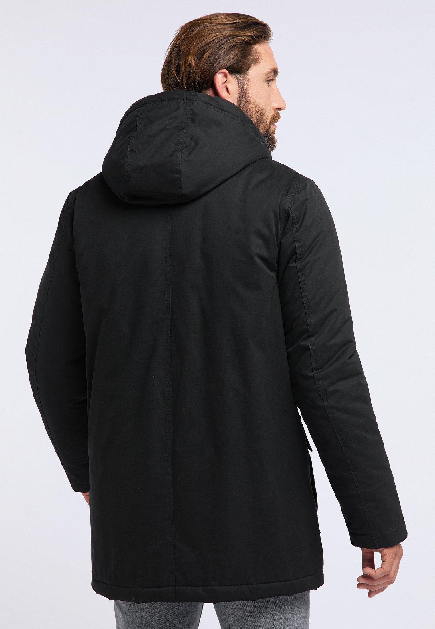 Ny Stil Online Shopping Tøj til herrer ICEBOUND Vinterfrakker black Cow50e 6g43O9
