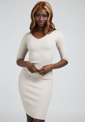 GISELE  - Shift dress - beige