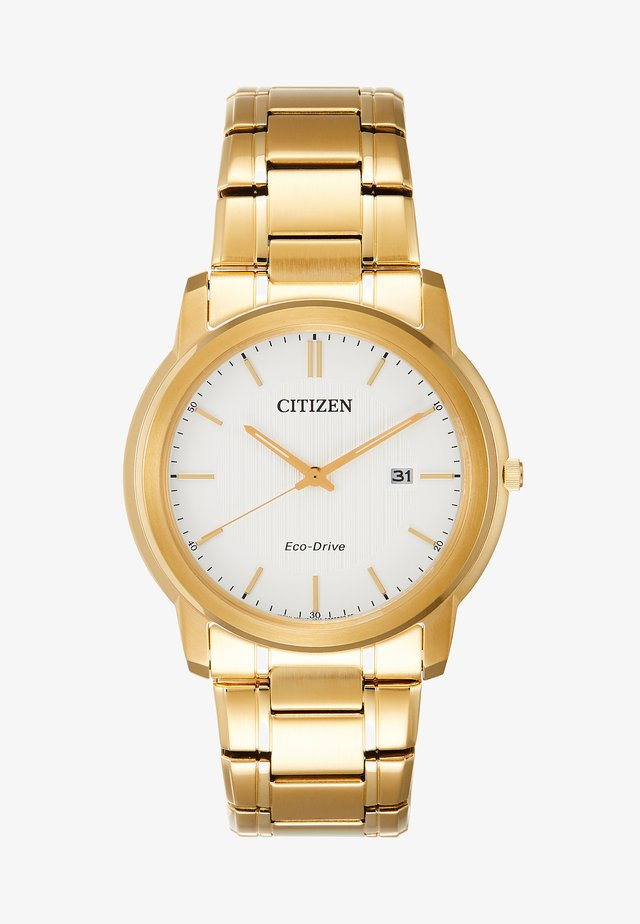 ECO DRIVE DATE - Watch - gold-coloured