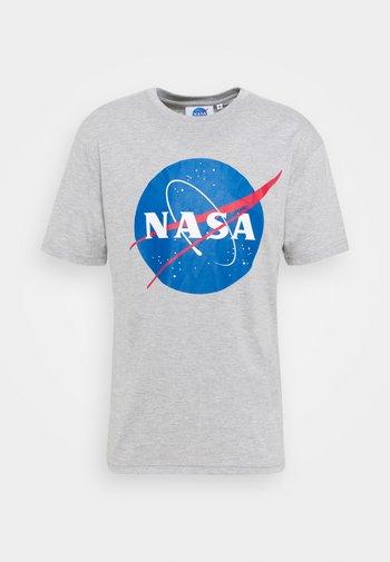 NASA - Triko spotiskem - grey marl