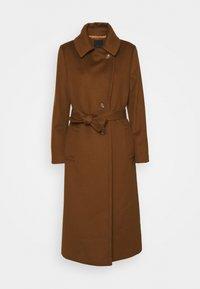 Sand Copenhagen - COAT CLARETA BELT - Classic coat - brown - 5