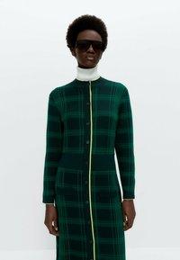 Uterqüe - Jumper dress - green - 2