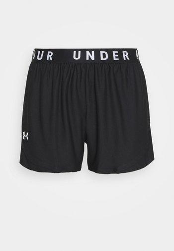 PLAY UP SHORTS  - Sports shorts - black
