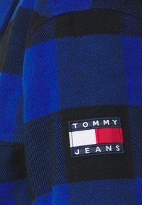 Tommy Jeans - PLAID TRUCKER JACKET UNISEX - Välikausitakki - providence blue - 3
