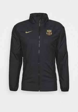FC BARCELONA - Klubové oblečení - black/metallic gold