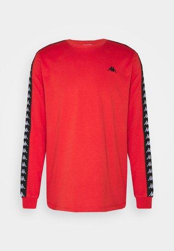 JENK - Maglietta a manica lunga - aurora red