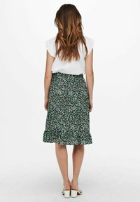 ONLY - Wrap skirt - dusty turquoise - 2