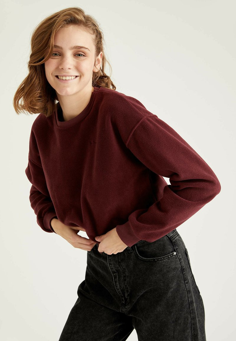 DeFacto - Sweatshirt - bordeaux