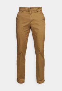 Selected Homme - SLHSTRAIGHT STOKE FLEX PANTS - Chinos - butternut - 3