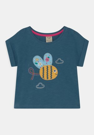 SOPHIA SLUB BUMBLE BEE  - Print T-shirt - india ink