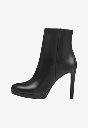 QUANETTE - High heeled ankle boots - black