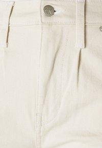 Calvin Klein Jeans - HIGH RISE STRAIGHT ANKLE - Jeans straight leg - denim light - 2