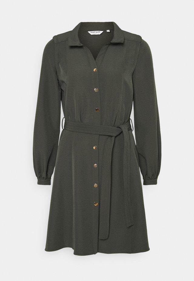 MARINETTE - Skjortekjole - vert khaki