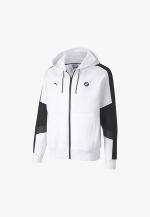 veste en sweat zippée - puma white