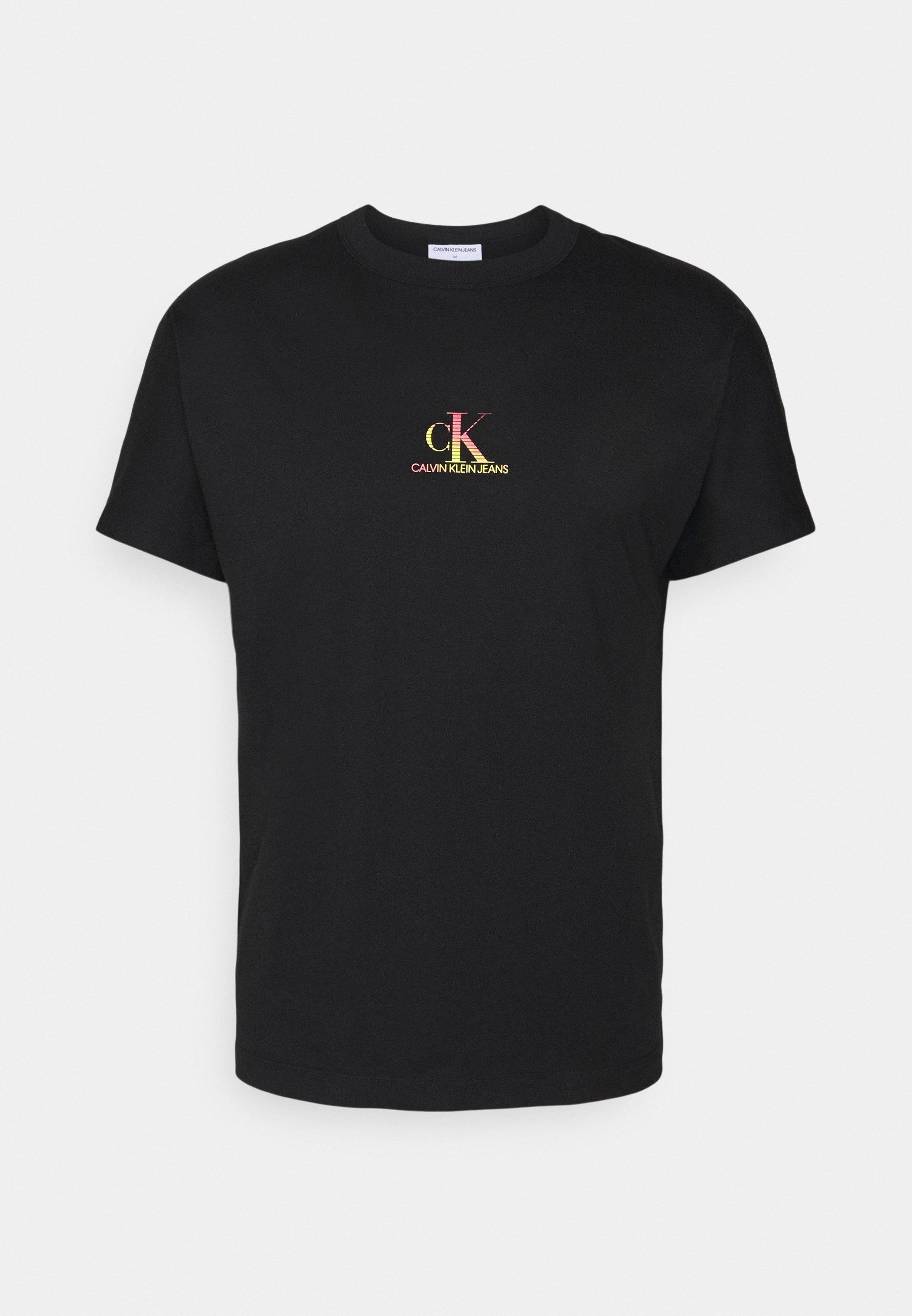 Men GRADIENT BACK LOGO TEE UNISEX - Print T-shirt