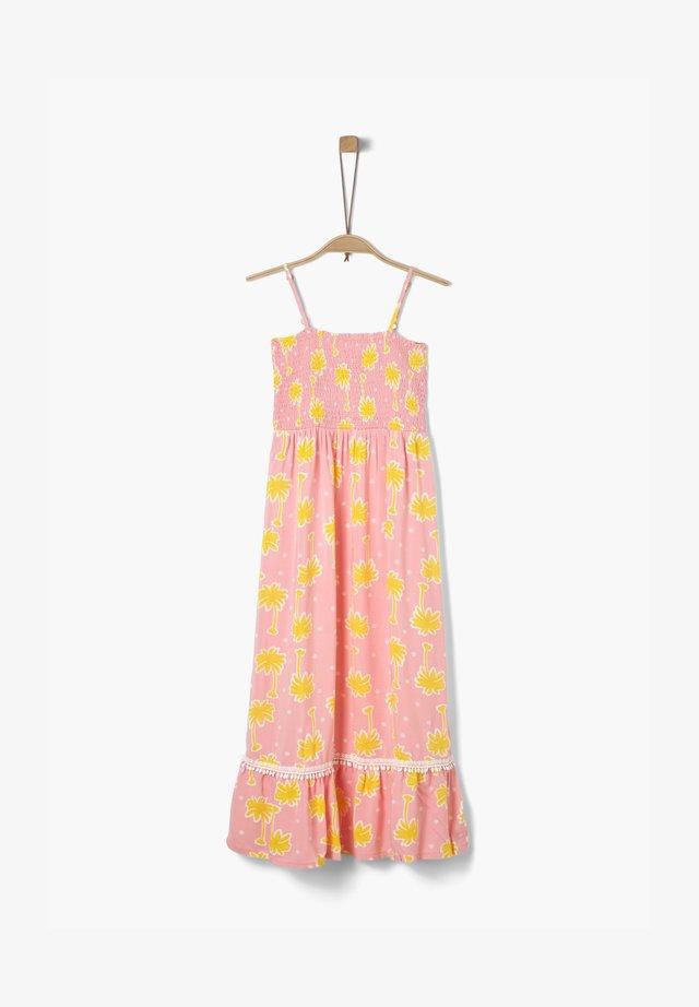 Vestito estivo - pink aop