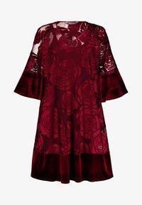 Ulla Popken - Day dress - bright berry - 3