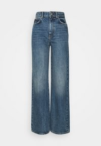 Gina Tricot Tall - IDUN WIDE - Relaxed fit jeans - dark sea blue - 3