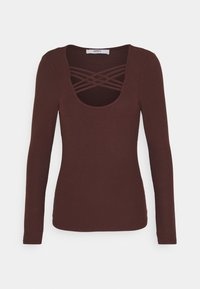 ONLY - ONLMARY - Long sleeved top - bitter chocolate - 4
