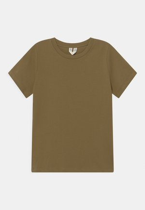 UNISEX - Jednoduché triko - khaki